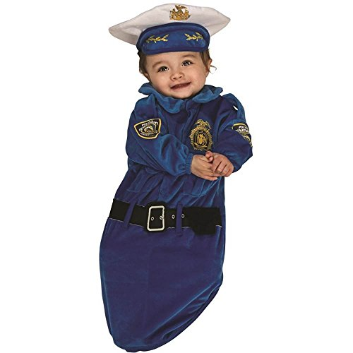 Police Officer Baby Bunting Costume - Newborn