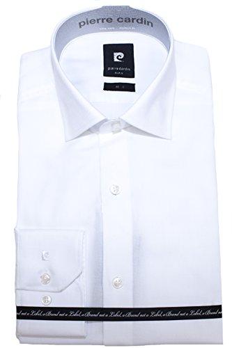 Pierre Cardin -  Camicia classiche  - Camicia  - Classico  - Maniche lunghe  - Uomo bianco 46