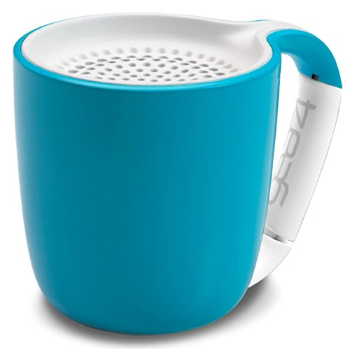 Gear4 Espresso Portable Wireless Bluetooth Speaker - Compact But With Powerful Sound - Exclusive Amazon Price - Light Weight Portable Speaker That Goes Wherever You Go This Summer! 100% - Money Back Guarantee