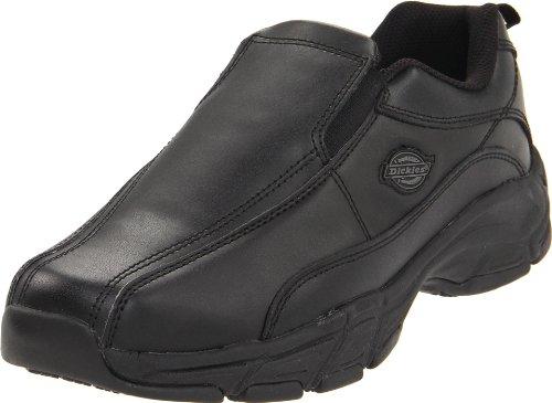 Dickies Men's Athletic Slip-On Work Shoe,Black,10 M US