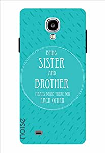 Noise Being Sister And Brother-Green Printed Cover for Samsung Galaxy S4