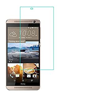 Royal Touch ™ HTC ONE E9 PLUS TEMPERED GLASS SCREEN PROTECTOR/BUBBLE FREE APPLICATION/HOLE FOR FRONT PROXIMITY SENSOR/NO HANGING PROBLEM/HIGH QUALITY JAPANES AGC GLASS MATERIAL