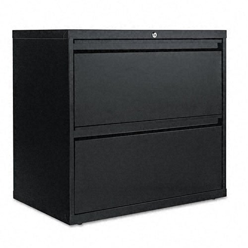 Two Drawer Lateral File Cabinet 30w X 19 1 4d X 29h Black