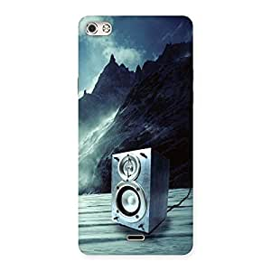 Cute Speaker Of Snow Back Case Cover for Micromax Canvas Silver 5