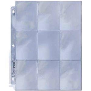 Ultra Pro 25/9 Pocket Page Protectors