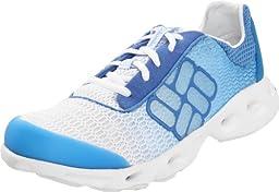 Columbia Sportswear Women\'s Drainmaker Water Shoe,Hanalei/White,9 M US