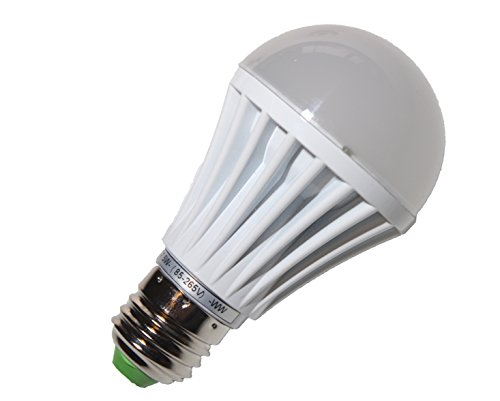 9W LED Bulbs (White, Pack of 6)