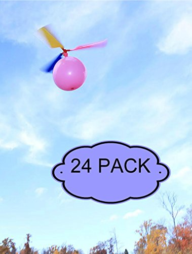 Kids-Balloon-Helicopter-Party-Favor-Toy-Balloon-Powered-Helicopter-Toy-24-Pack