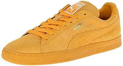 PUMA Men's Suede Classic Plus Sneaker,Gold Fusion/Team Gold,5 M US