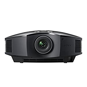 Sony VPL-HW40ES/B - VPL-HW40ES/B, Home Cinema Projector, 1700lm, FullHD SXRD 3D, 3 Years Prime Support, Reality Creation, longer lasting lamp up to 5,000 hours, WirelessHD units / RF transmitter optional accessories compatible, Black Colour by Sony