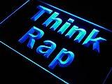 ADV PRO s198 b Think Rap Rapper Music DJ Studio Neon Light Sign Enseigne Lumineuse