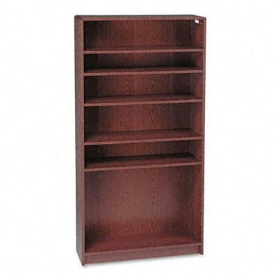 "Hon - 1890 Series Bookcase Six-Shelf 36W X 11-1/2D X 72-5/8H Mahogany ""Product Category: Office Furniture/Bookcases & Door Kits"""