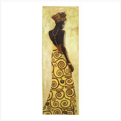 African Princess Wall Decor