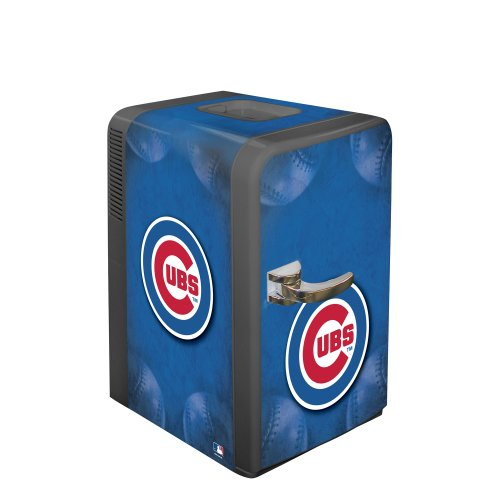 Cheap mlb chicago cubs portable party refrigerator