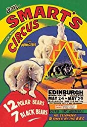 30 x 20 Canvas. Billy Smart\'s New World Circus and Menagerie: 12 Polar Bears, 7 Black Bears