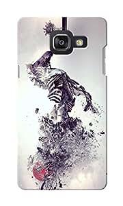 KnapCase Zebra Abstract Designer 3D Printed Case Cover For Samsung Galaxy A5 2016