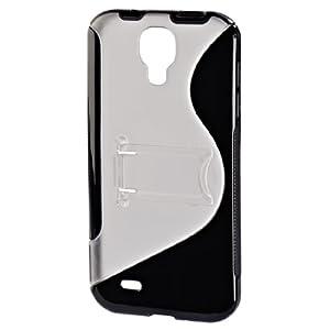 Hama 00122996 TPU Combi Case für Samsung Galaxy S IV schwarz