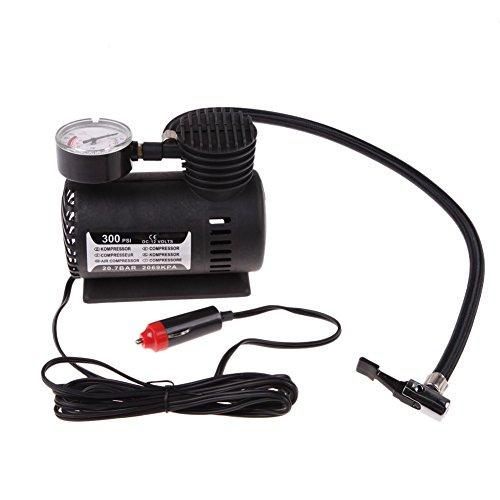 Vktech® Portable 12V Auto Car Electric Air Compressor Tire Infaltor Pump 300 PSI XR (Auto Air Compressor 12v compare prices)