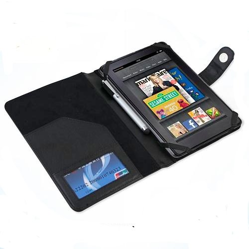 Kiwi Cases Kobo Vox eReader Black Leather Executive SRX Series Case