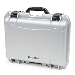 Nanuk 925 Case with Padded Divider (Silver)