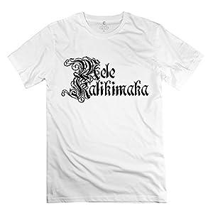 Designed Mele Kalikimaka Men's Round Neck T-shirt White