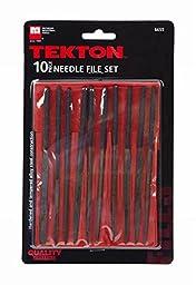 Tekton 6655 2 Pack 10 Pc. Needle File Set