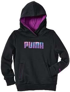 Puma FD TD Sweat à capuche fille Noir FR : 8 ans (Taille Fabricant : 128)
