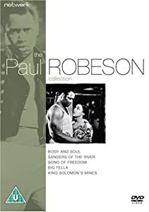 Paul Robeson DVD & CD Collection - Body And Soul/Sanders Of The River/Song Of Freedom/Big Fella/King Solomon's Mines