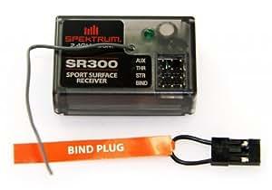 Losi TEN-SCT Nitro * SPEKTRUM SR300 2.4Ghz 3-Channel DSM RECEIVER * RX DX3E
