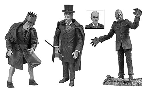Diamond Select Toys Universal Monsters: Legacy Series 4 Black and White Action Figure Box Set