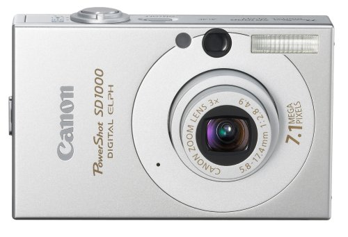 Canon PowerShot SD1000 is one of the Best Point and Shoot Digital Cameras for Photos of Children or Pets Under $200
