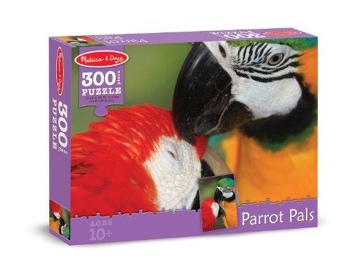 Melissa & Doug Parrot Pals Cardboard Jigsaw Puzzle, 300-Piece