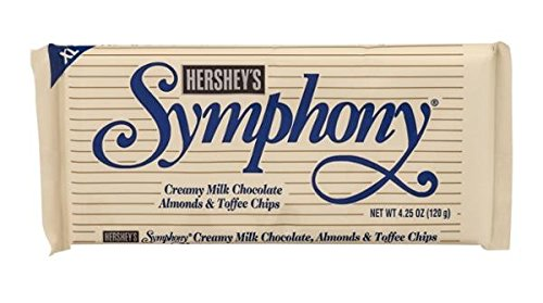 Symphony Extra Large Milk Chocolate With Almonds And Toffee Bar