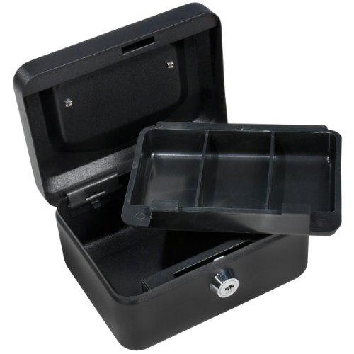 Barska 6 Inch Cash Box With Key Lock