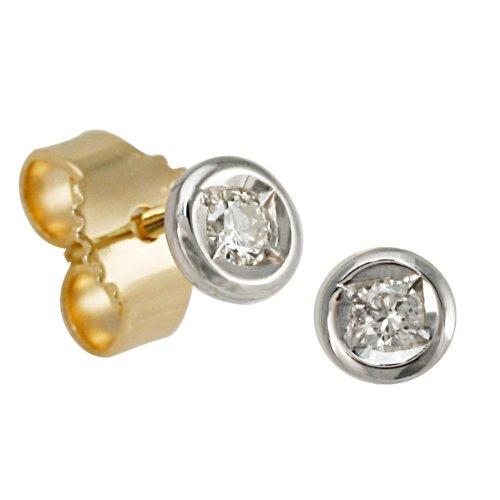 Imagen principal de Bella Donna Ohrstecker 904934 - Pendientes de mujer de oro amarillo (14k) con 2 diamantes