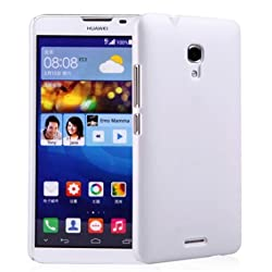 Premium Slim PC Matte Hard Case for Huawei Ascend Mate 2 4G (White)