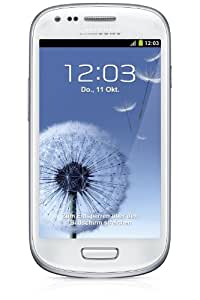 Samsung Galaxy  GT-I8190RWADBT S3 mini Smartphone débloqué 4 pouces 8 GB Android 4.1 Jelly Bean Blanc (import Europe)