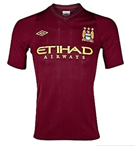 Umbro MANCHESTER CITY Away shirt 12/13 years old