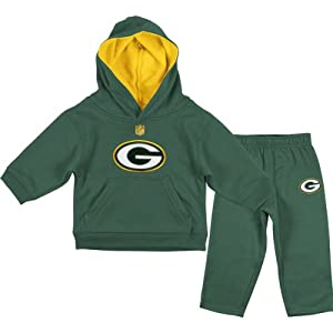 Green Bay Packers Toddler Hunter Green NFL Gameday Performance Hoddie & Pant Set from NFL Brand