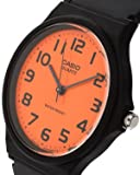 Casio Unisex MQ-24CC-4B2EF Analogue Orange Dial Watch