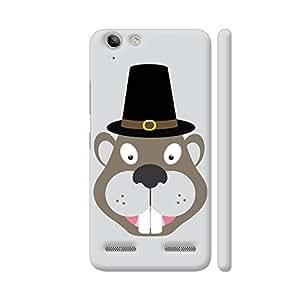 Colorpur Thanksgiving Beaver Designer Mobile Phone Case Back Cover For Lenovo Vibe K5 / Vibe K5 Plus | Artist: Torben