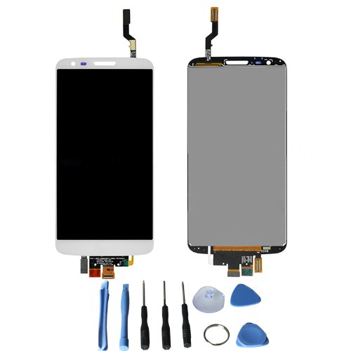Lcd Display Touch Screen Digitizer For Lg Optimus G2 D800 D801 D803 With Free Tools (White)