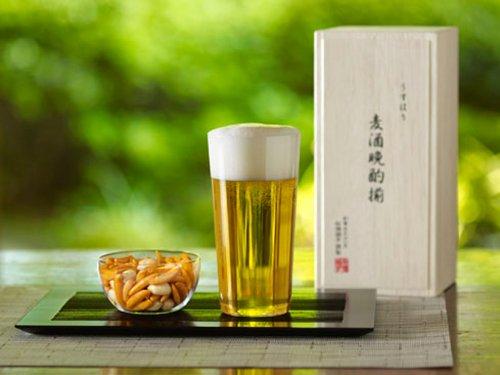 松徳硝子 うすはり タンブラーL&柿ピー 小鉢セット