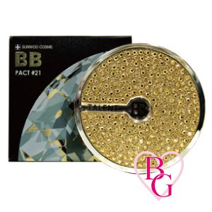 BB エスカルゴ パウダー パクト BB Pact SPF22 PA++ BBパクト