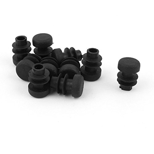 Uxcell pcs black plastic mm pipe end blanking caps