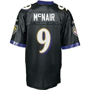 Ravens Reebok Steve McNair Alternate Replica Jersey - S