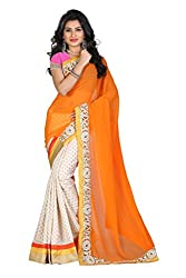 Gokul Vastra Saree (P-KT-3136_1_Orange White)