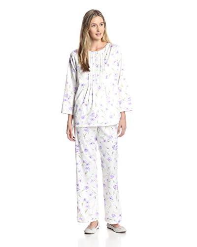 Carole Hochman Women's Brush Back Satin Pajama Set