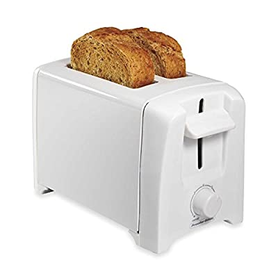 Proctor Silex 2-Slice Extra Wide Slot Toaster in White by Proctor Silex