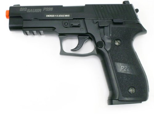 SIG Sauer P226 Full Metal Blow Back Gas Pistol airsoft gun